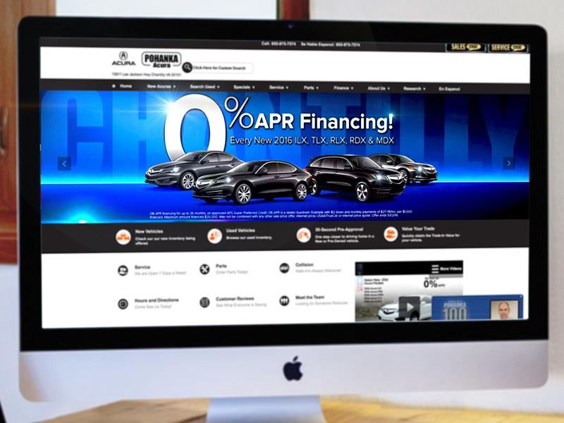 Website Car Banner