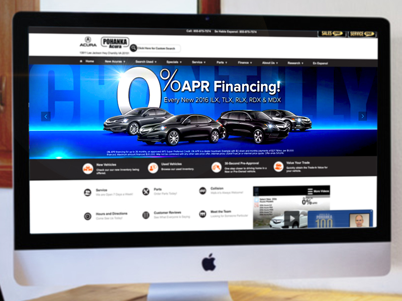 Website Car Banner